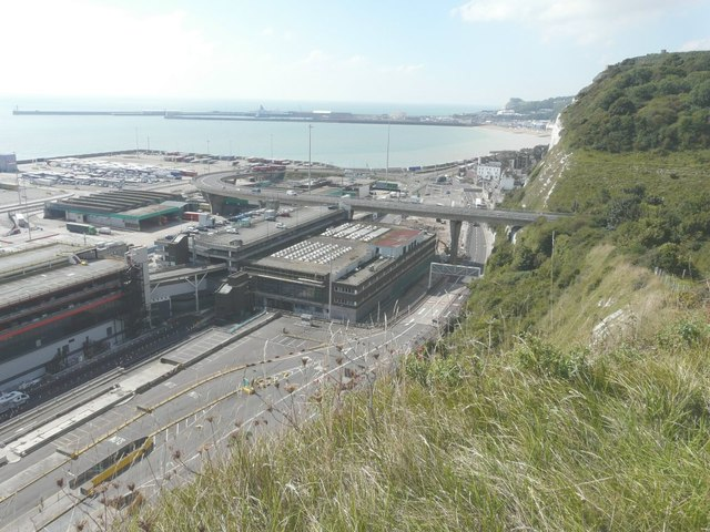 View of the Eastern Docks, Dover
