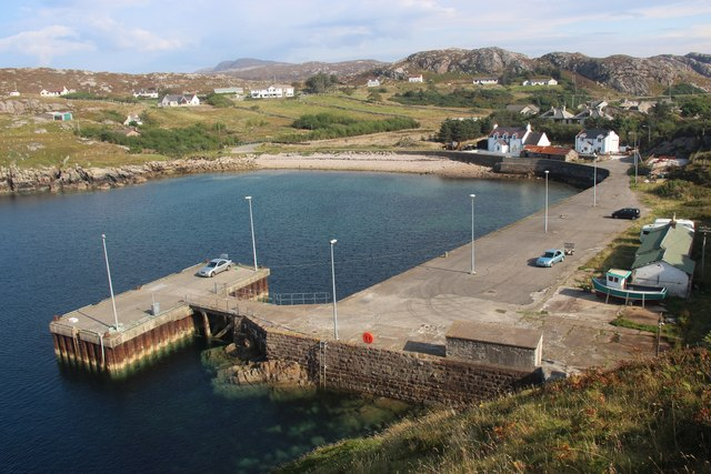 Loch Clash Pier