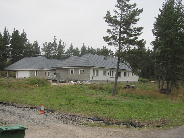 New house, Tomatin