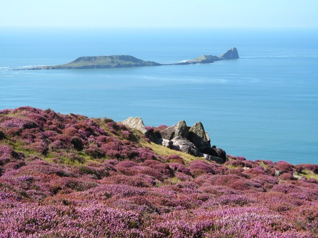 View from Rhossili Down