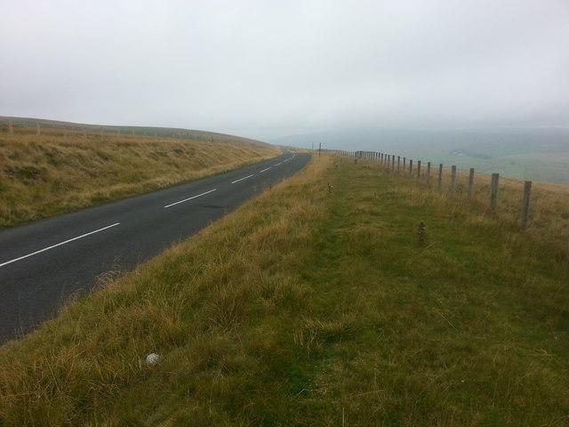 Descending Acton Moor