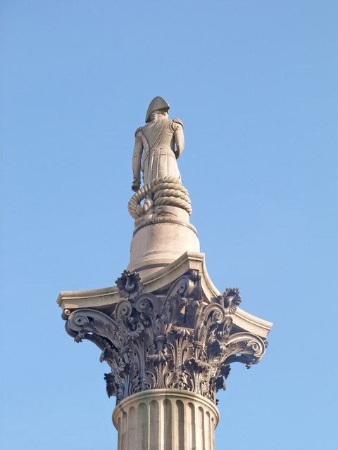 Lord Nelson statue, Trafalgar Square
