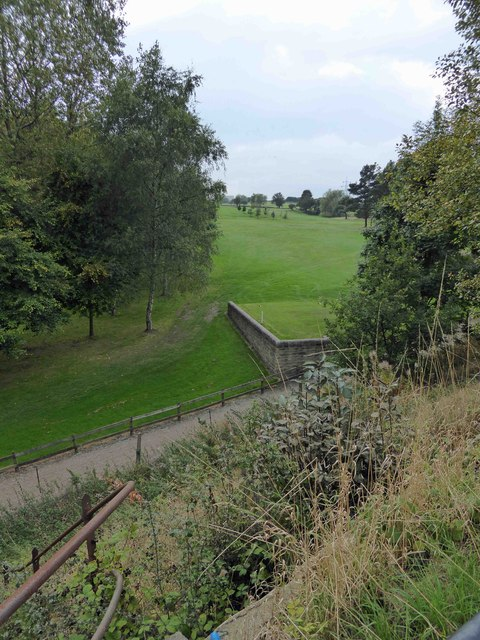 Cleckheaton and District golf club from the Spen Valley Greenway