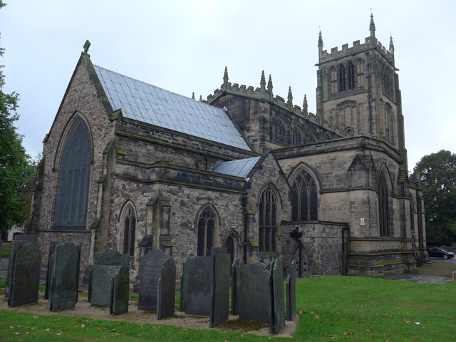 All Saints with Holy Trinity, Loughborough: September 2014