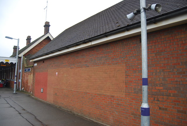 Electrical sub-station, High Brooms Station