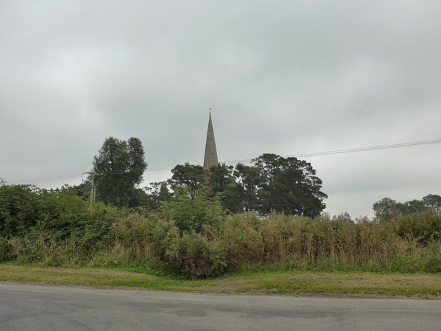 Looking from Chapel Lane towards St James