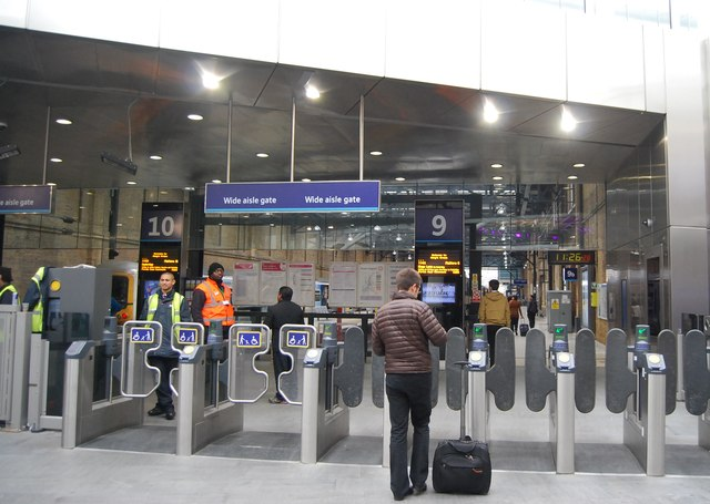 Barriers, King's Cross Station