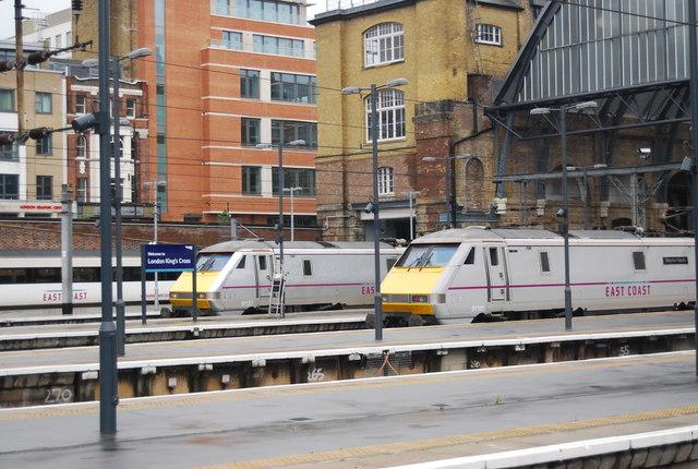 East Coast trains, King's Cross Station