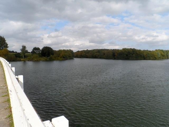 Looking west from Lemons Hill Bridge