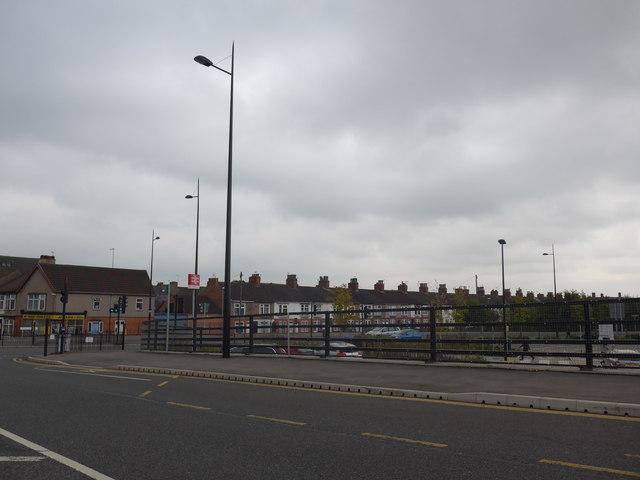 Lamppost in Nottingham Road
