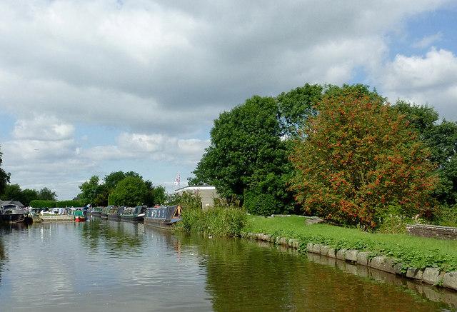 Peak Forest Canal near Marple Junction, Stockport