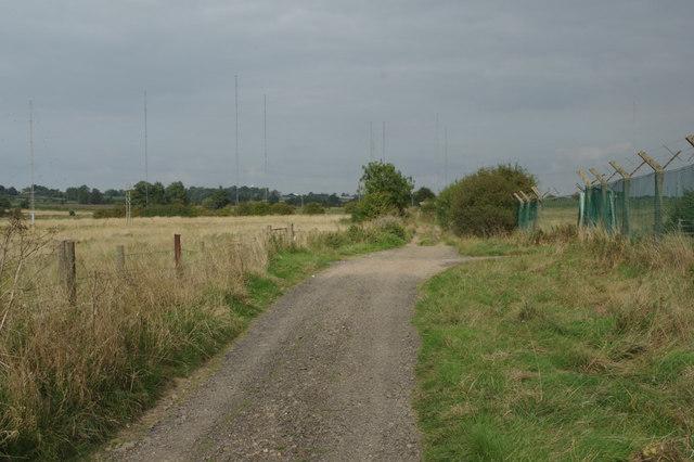 Track to Watling Street
