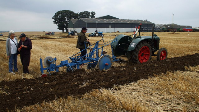 Ploughing Match by Heselton Farm