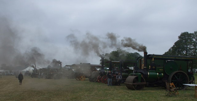 Steaming Up