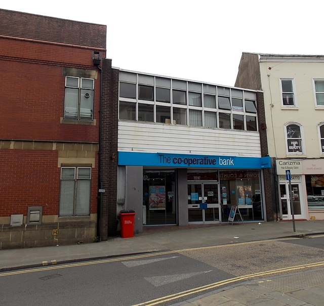 The Co-operative Bank in Oswestry