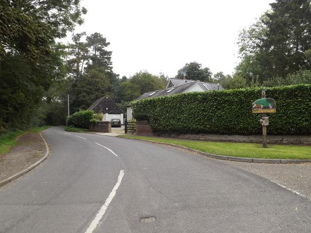 Trunch Hill & Denton Village sign