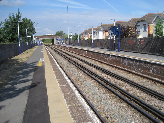 Haydons Road railway station, Greater London