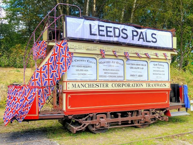 Leeds Pals Recruiting Tram, Heaton Park Tramway