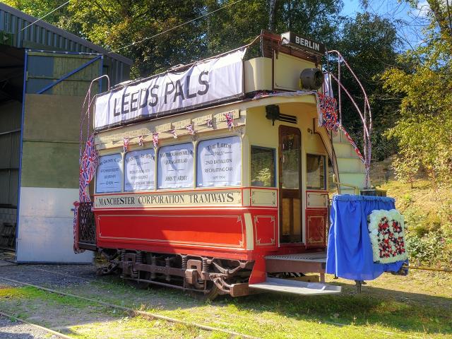 Historic Tramcar at Heaton Park