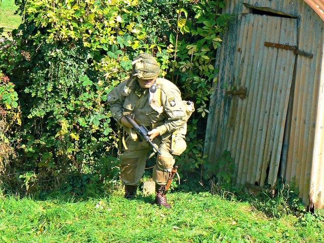 Wartime Weekend 2014 (8), Blunsdon Station