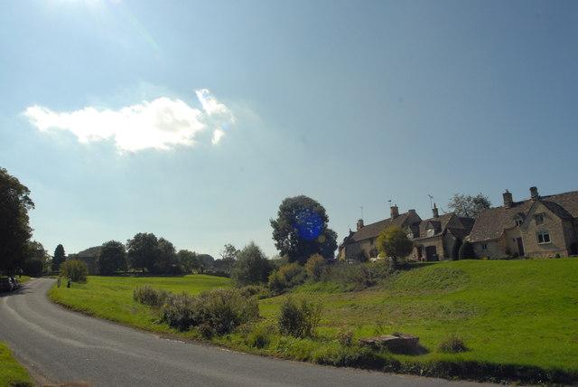 Village green at Little Barrington