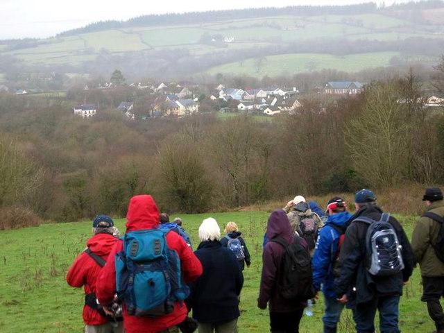 Llwybr Ffynnongrech Path