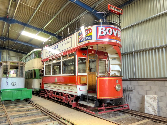 Stockport Number 5, Heaton Park Tramway Museum