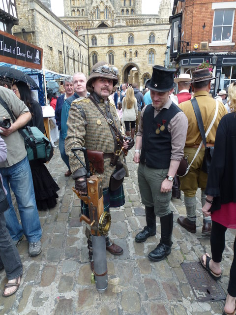 Steampunk festival in Lincoln 2014 - Photo 14