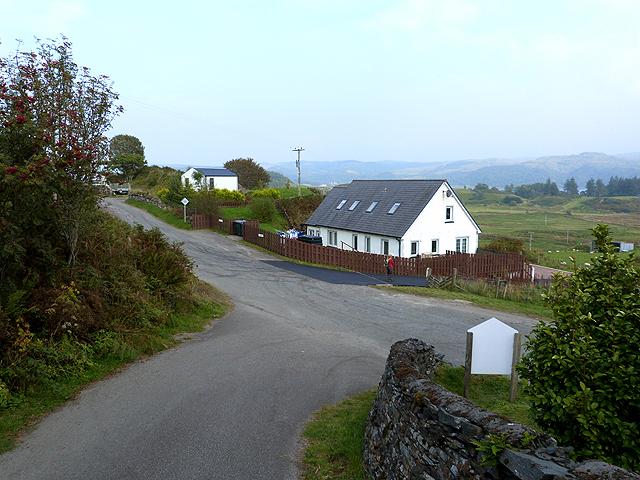 House below Kilbrandon Kirk