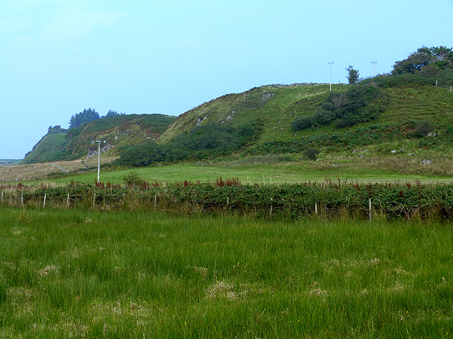 Ridge behind Kilbrandon Farm