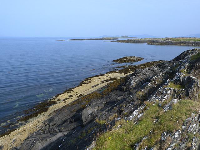 North coast of Seil