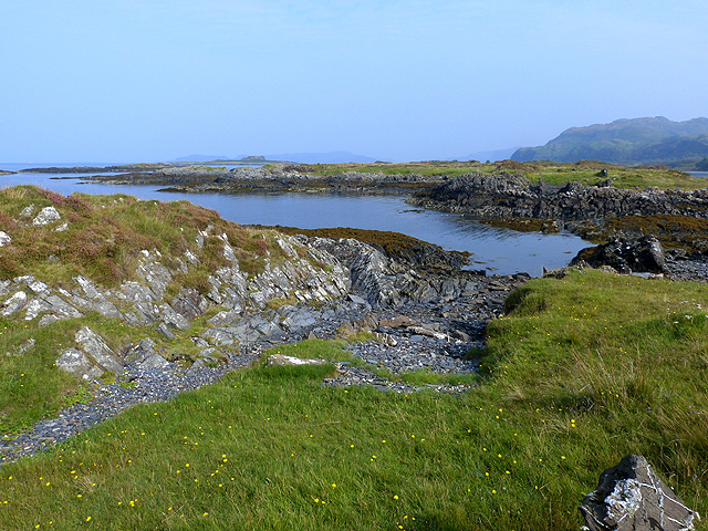 North coast of Seil