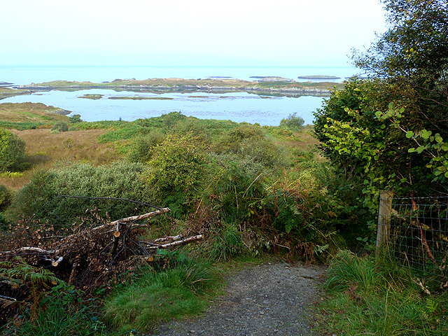 The path to Puilladobhrain Anchorage