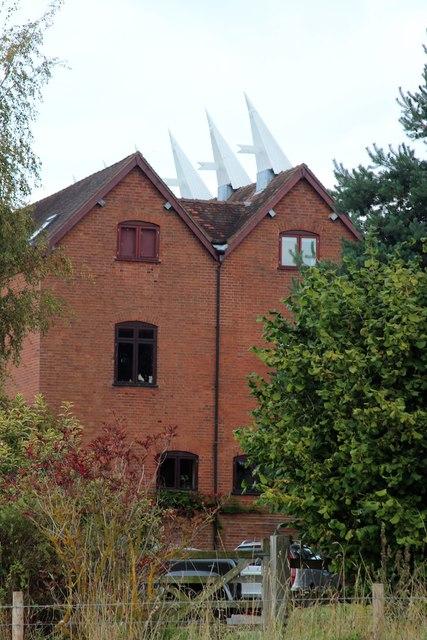Oast House at Stockton Grange, Stockton on Teme