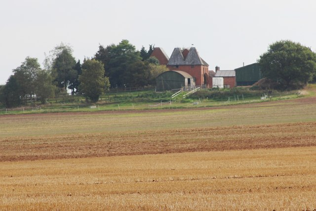 Oast House at Hope House Farm, Martley
