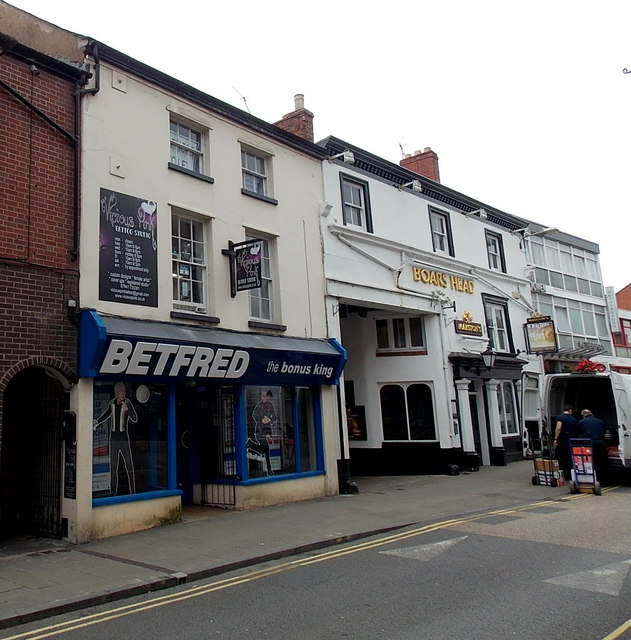 Betfred the bonus king in Oswestry