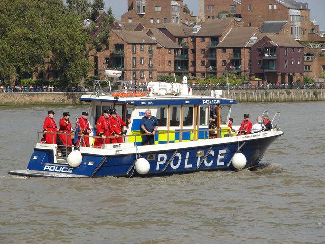 Police Launch Patrick Colquhoun II