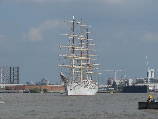 Dar Mlodziezy, Greenwich