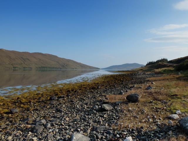 Shoreline of Loch Ainort