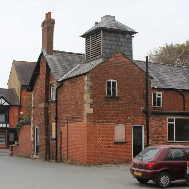 Building attached to former workhouse