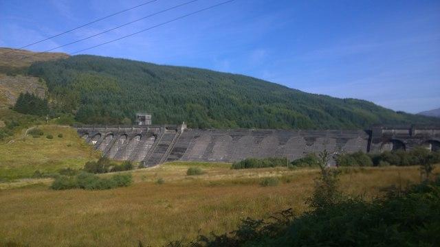 Loch Tarsan dam