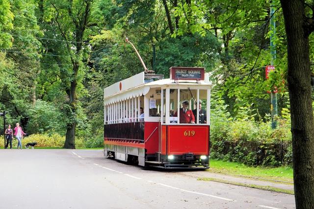 Heaton Park Tramway, Vanguard Tram 619