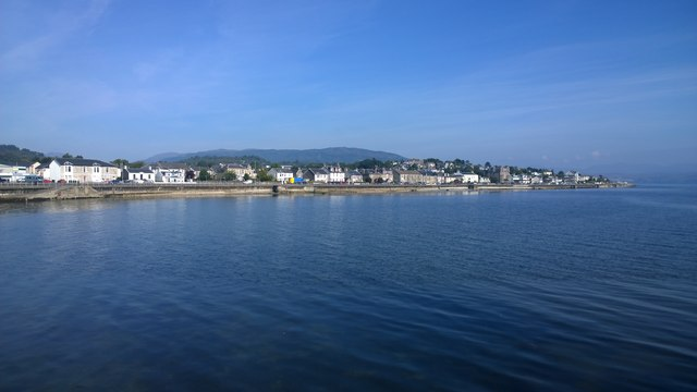 Across East Bay at Dunoon