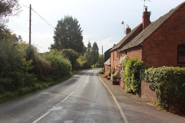 B4204 towards Tenbury Wells