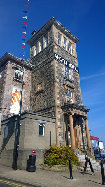 The Argyll Hotel, Dunoon
