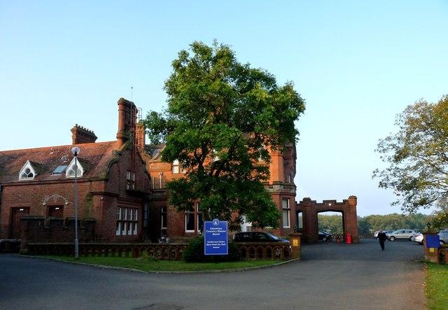 Adamton House, the main entrance