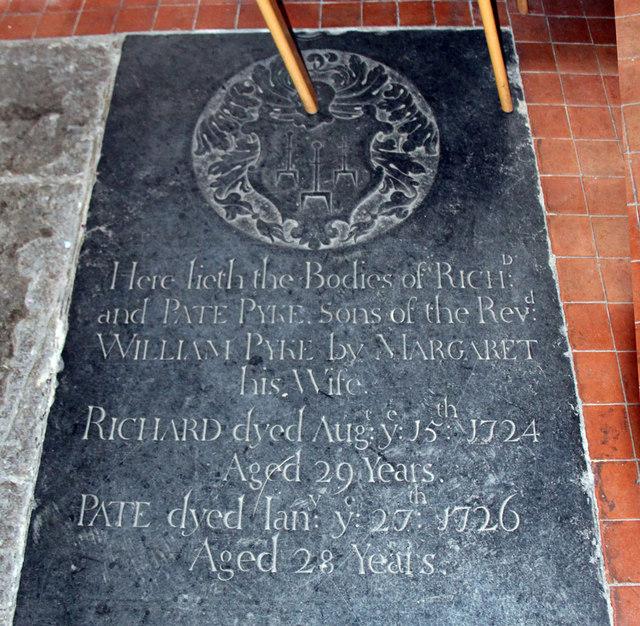 St Peter & St Paul, Black Notley - Ledger slab