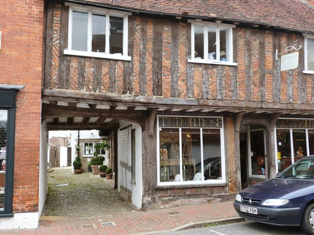 Timber framed building, East Street, Petworth