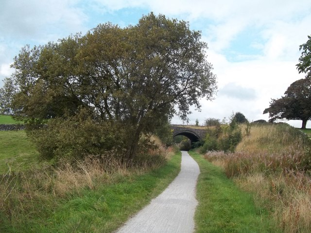 Road Bridge over the Tissington Trail