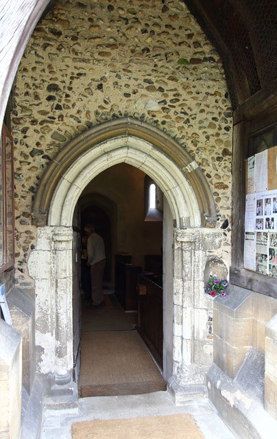 St John the Evangelist, Little Leighs - Porch